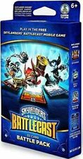 SKYLANDERS BATTLECAST 22 CARD BATTLE PACK WITH TRIGGER HAPPY, HEX AND SMASH HIT