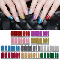 Tools Self-adhesive Glitter Powder Nail Stickers Nail Art Wrap Gradient Color