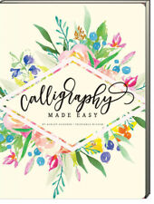 Calligraphy Made Easy by Ashley Gardner (2016, Paperback) 30 projects NEW
