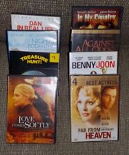 Lot of 8 romantic dramas DVDs, Far From Heaven, Against All Odds, In My Country