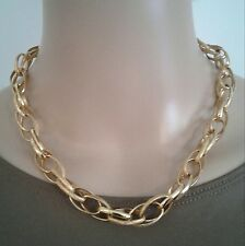 Dolce Vita Gold Large Link Necklace 18 inch