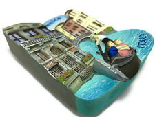 Venice Gondola Italy SOUVENIR RESIN 3D FRIDGE MAGNET SOUVENIR TOURIST GIFT
