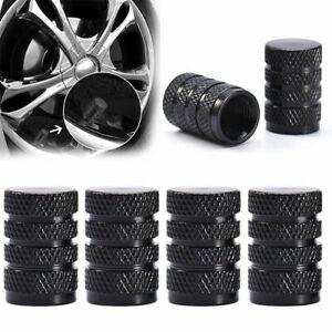 4Pcs Durable Aluminium Car Wheel Tyre Valve Stems Air Dust Cover Screw Cap