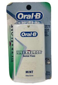 (1) Oral-B Ultra Floss Mint 55yd NOS READ!