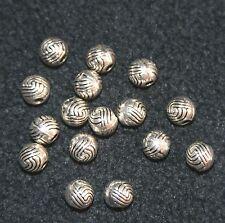 20pcs Antique Silver Spacers Charm Beads fit European Bracelet &Necklace