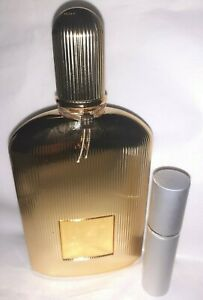 TOM FORD BLACK ORCHID Parfum New Gold Bottle 2020 5ML Travel Atomiser