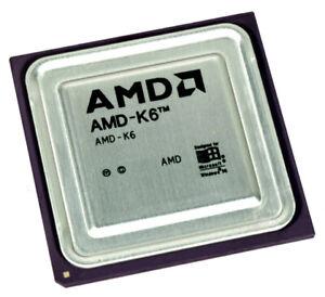 AMD K6 AMD-K6-200ALYD 200ALYD CPU Prozessor 200MHz 66MHz Sockel 7 2.9V Model 6