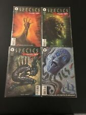 Species Human Race 1-4 Lot Run Set Collection Movie Comic Books High Grade