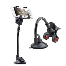 Universal Car Phone Holder 360°Rotating Gooseneck Suction Cup For Any Phone
