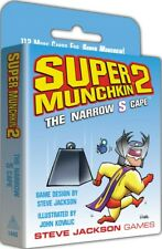 Super Munchkin Card Game: Super Munchkin 2: The Narrow S Cape Expansion