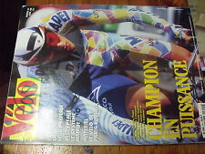 µ??  Revue Velo Magazine n°341 Velo de Paris Roubaix A Tchmil  19 Avril 1987
