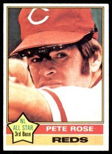 1976 Topps Pete Rose Cincinnati Reds #240