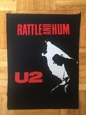 U2 Vintage Backpatch Rückenaufnäher f. Fans v. Bruce Springsteen Coldplay