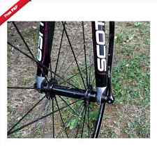 MT ZOOM Titanium BLACK FRONT ROAD Quick Release QR Skewer 21g Tune your bike Ti