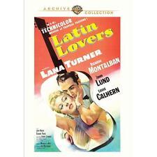 LATIN LOVERS DVD Lana Turner, Ricardo Montalban, John Lund, Louis Calhern