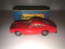 Matchbox Red Ferrari Berlinetta Superfast Mint/Mint In Original Box
