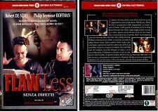 FLAWLESS (Robert De Niro) - DVD NUOVO E SIGILLATO, PRIMA STAMPA, F.C. RARO!
