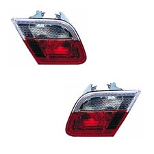 For BMW 3 Series E46 Coupe 1998-2003 Rear Inner Boot Lamps Lights Pair OS NS