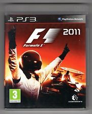 JEU PS3 ★ F1 2011 FORMULA ONE ★ SONY PLAYSTATION 3 ★ COMPLET