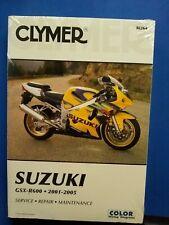 Clymer Repair Manual NEW M264 Suzuki GSX-R600 2001-2005