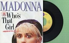 MADONNA / Who's That Girl / WEA 928 341-7 Pressing France 1986 Single VG+
