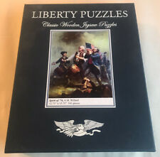 LIBERTY CLASSICS WOODEN JIGSAW PUZZLE A.M. Willard American Revolution 541 Pc