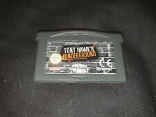 TONY HAWK'S UNDERGROUND Nintendo Gameboy Advance Game