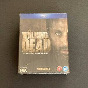 The Walking Dead Season 1-3 [Blu-ray] [2010] - Box Set Excellent Condition