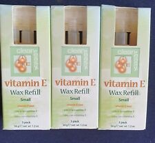 Clean + Easy Wax refils vitamin E x 3 packets