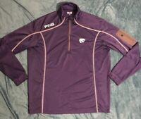 Kansas State Wildcats PING Ranger Zip Pullover Long Sleeve Purple Men's Large