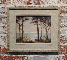 Evylena Nunn Miller -Beautiful California Coast line-1930s Impressionist