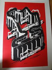 Stampa D'ARTE limita 128/200 Modern Art motivo City, firmata dall'artista