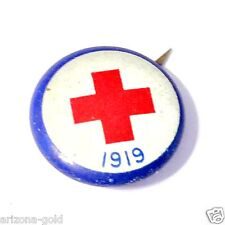 1 Antique American Red Cross Pin 1919 Vintage WW I Collectible RANDOM SELECTION