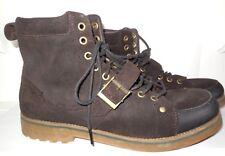 Polo Ralph Lauren Men's McAlton Boots sz 13 D Suede Leather Brown