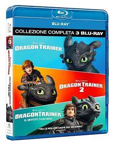 DRAGON TRAINER 1-2-3 (3 BLU-RAY) COF. UNICO, ITA.