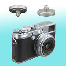 Silver Soft Shutter Release Button JJC Brass FUJIFILM X30 X-E2 Leica M7 Nikon Df