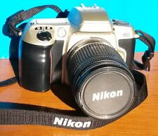 FOTOCAMERA NIKON F60 + OBIETTIVO NIKKOR 28-80mm, CON IMBALLO E MANUALE ITALIANO