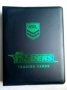 2019 NRL TRADERS COMPLETE 160 COMMON TRADING CARDS - W/FOLDER/SLEEVES/CHECKLIST