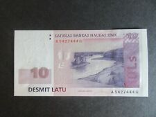 More details for latvia, 2006-2009 issue, 10 lati - dated 2008 - p54 - uncirculated