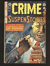 Crime SuspenStories # 17 - Classic Bullet In The Head cover Frazetta art VG Cond