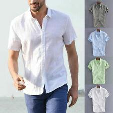 Camicie casual e maglie da uomo senza marca a lunghezza della manica manica corta