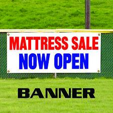 Mattress Sale Now Open Furniture Unique Novelty Indoor Outdoor Vinyl Banner Sign