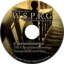 DVD The Unexplained Haunted Paranormal Investigation Center Evidence EVP Video 2