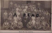 WW1 Verwundet Soldat Gruppe Nurse Roose Aux Militär Krankenhaus Barrow Cumbria