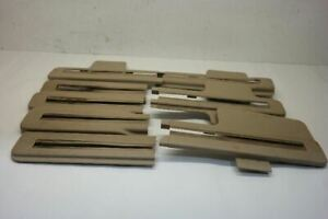 2014 Nissan Pathfinder 2nd Second Row Seat Track Covers