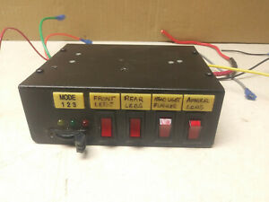 Federal Signal SW400SS Light Control Switch Box