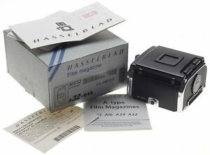 HASSELBLAD A32 645 MINT boxed film back magazine V series 30232 insert slide