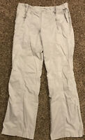 Gap Stretch Womens Size S Khaki Cotton Blend Pants A18