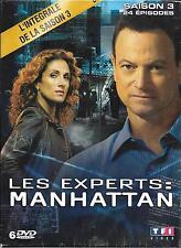 COFFRET 6 DVD LES EXPERTS MANHATTAN INTÉGRALE DE LA SAISON 3 NEUF SCELLE