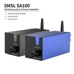 SMSL SA100 Bluetooth 5.0 Analog TPA3116 50W + 50W Audio Desktop Power Amplifier